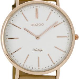 Montre Oozoo Vintage Femme bracelet en cuir
